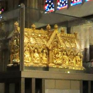 The Marienschrein at Aachen Cathedral (StreetView)