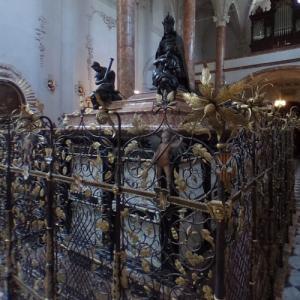 Maximilian I, Holy Roman Emperor's tomb at Hofkirche (StreetView)