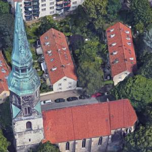 Kreuzkirche, Hanover (Google Maps)