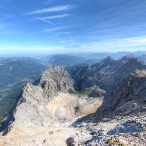 View from Zugspitze (StreetView)