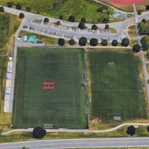 Hershey High School Soccer Stadium (Google Maps)