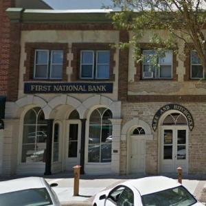 Site of the last Jesse James bank robbery (StreetView)