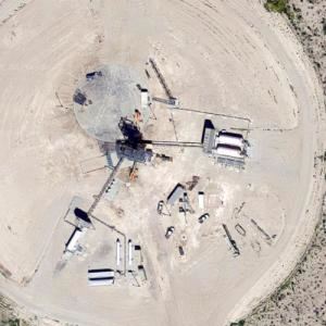 West Texas Suborbital Launch Site (Google Maps)