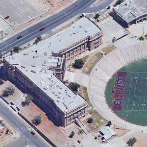 El Paso High School (Google Maps)