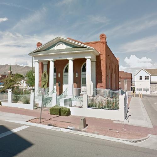 Old Bnai Zion Synagogue in El Paso, TX (Google Maps)