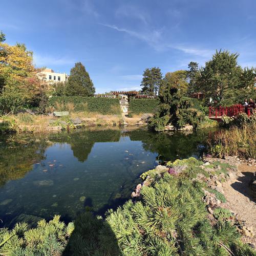 Allen Centennial Garden in Madison, WI (Bing Maps)