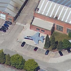 F-16A (Google Maps)