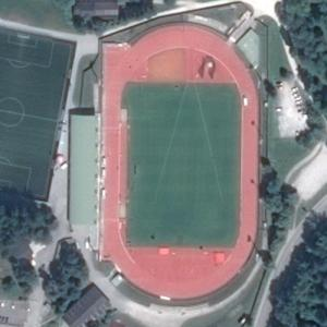 Ob Jezeru City Stadium (Google Maps)