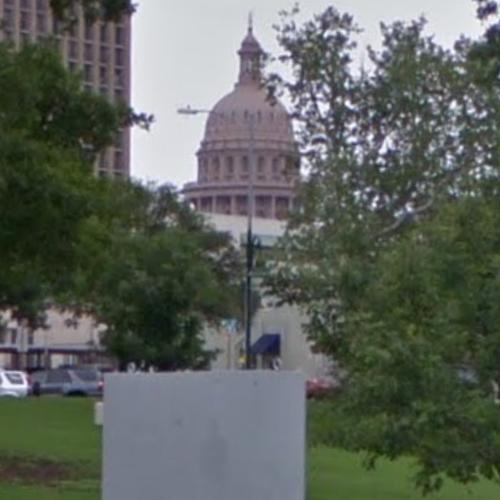 Map Of Texas Capitol.Texas Capitol View Corridor Wooldridge Square Park In Austin Tx