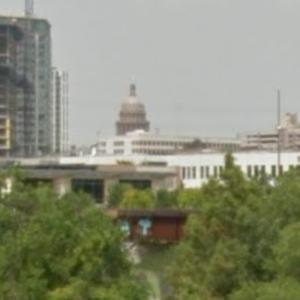Texas Capitol View Corridor - Lamar Bridge (StreetView)