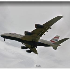 British Airways Airbus A380-841 [G-XLEC] (StreetView)