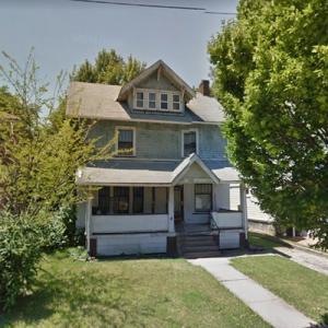 LeBron James' childhood home (StreetView)