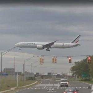 """Air France Boeing 777-328ER [F-GZNP] """"Paris 2024"""" Special Livery (StreetView)"""