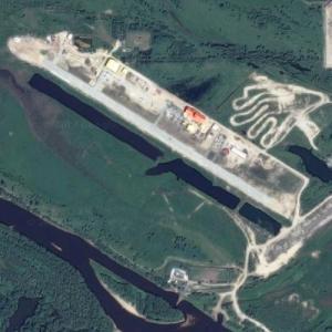 Aerodrom Surgut Borovaya (Google Maps)