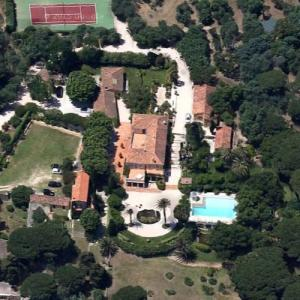 Villa from the film La Piscine (1969) (Google Maps)