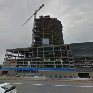 Capital One Headquarters under construction (StreetView)