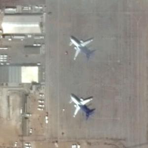 B-737s at Firebag (Google Maps)