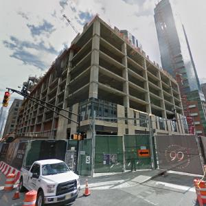 99 Hudson Street (tallest building in New Jersey) under construction (StreetView)