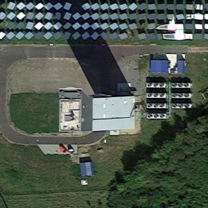 Jülich Solar Tower (Google Maps)