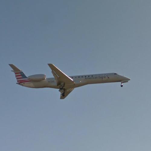 Elbplanke Ä Tännsch N Please: American Eagle EMB-145 [N672AE] In Shreveport, LA (Bing Maps