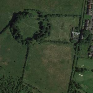 Castlehill Roman Fort (Antonine Wall) (Google Maps)