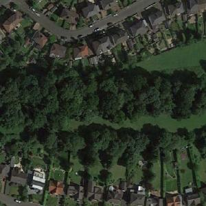 Remains of the Antonine Wall (Google Maps)
