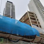 Platinum Lifestyle Tower under construction
