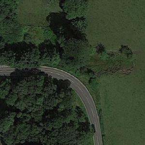 Remains of the Antonine Wall Ditch (Google Maps)