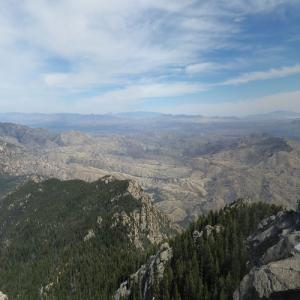View from Rincon Peak (StreetView)