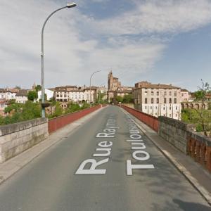 Rabastens Bridge (StreetView)