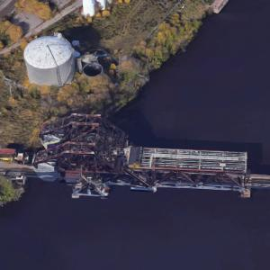 Jackknife Bascule Bridge (Google Maps)