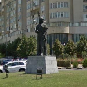 Statue of Vlad Ţepeş a.k.a. Dracula (StreetView)