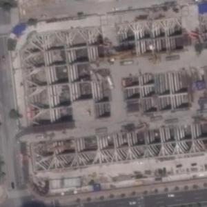 Suzhou ICC under construction (Google Maps)