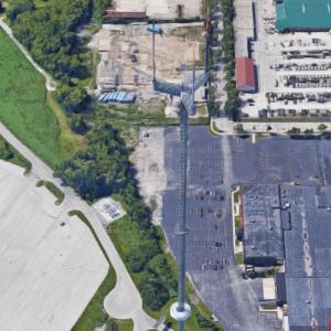 MATC Guyed Mast (Google Maps)