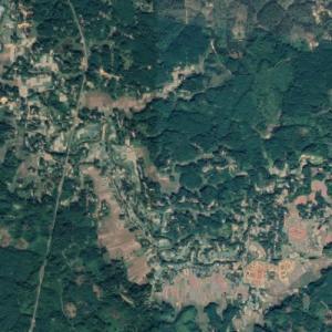 2017 Tripura earthquake epicenter (Google Maps)