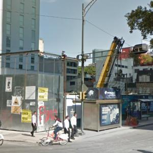 Impera Reforma under construction (StreetView)
