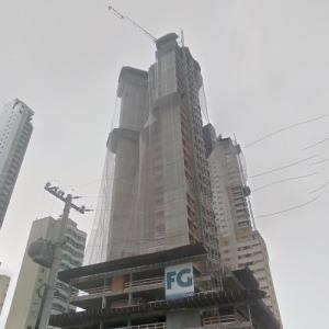 Infinity Coast Tower under construction (StreetView)