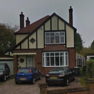 Dave Hill's former house (StreetView)