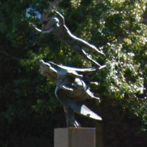 'Man and Pegasus' by Carl Milles (StreetView)