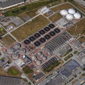 Annacis Island Wastewater Treatment Plant (Google Maps)
