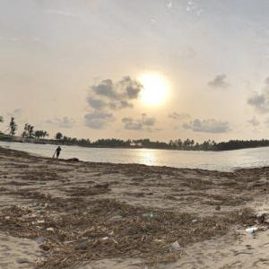 Mouth of the Volta River (StreetView)