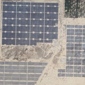 Quaid-e-Azam solar Park (Google Maps)