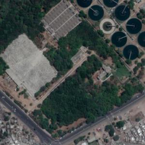 Indian Airlines Flight 113 crash site (Google Maps)