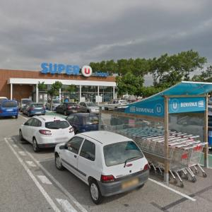 Hostage crisis in French supermarket (3/23/2018) (StreetView)