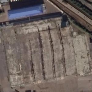 2015 Kazan Shopping Center fire site (Google Maps)