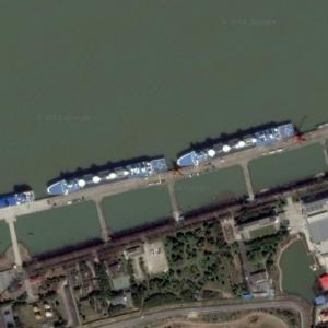 Yuan Wang 6 & Yuan Wang 7 - PLAN Tracking Ships (Google Maps)