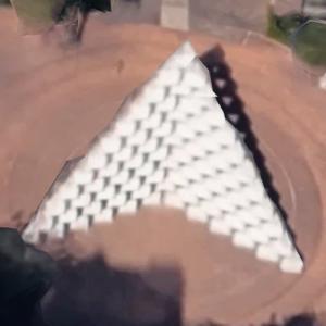 'Mixcoac Pyramid' by Mathias Goeritz (Google Maps)
