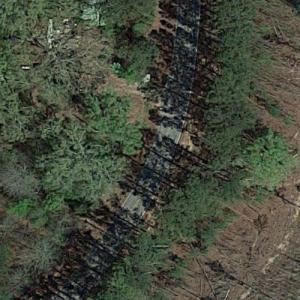 """Walker Herd Breaks Away (""""The Walking Dead"""") (Google Maps)"""