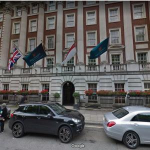 Millennium Hotel, Grosvenor Square (StreetView)