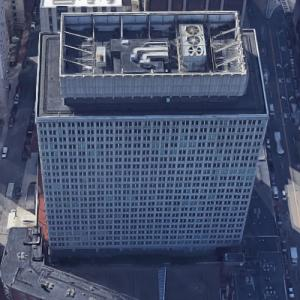 'Leverett Saltonstall Building' by I.M. Pei (Google Maps)